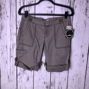 NWT FREE PEOPLE Solid Ripstop Shorts 4